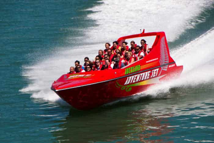 Auckland Adventure Jet Tour for Family