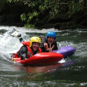 Sledging - Kaituna River Rotorua