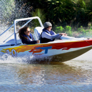 Jet Sprint -Drive a Boat Auckland – 1 Driver/1 Passenger